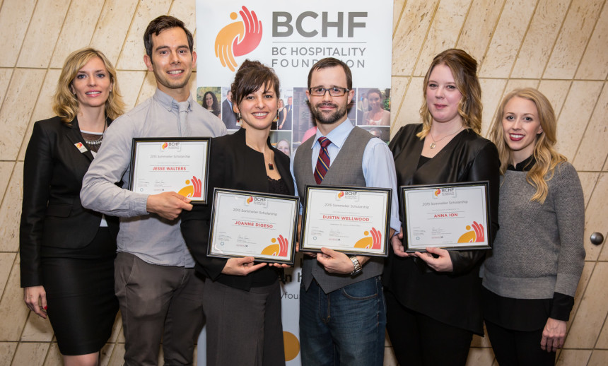 2016 BCHF Sommelier Scholarship Applications Open until January 20