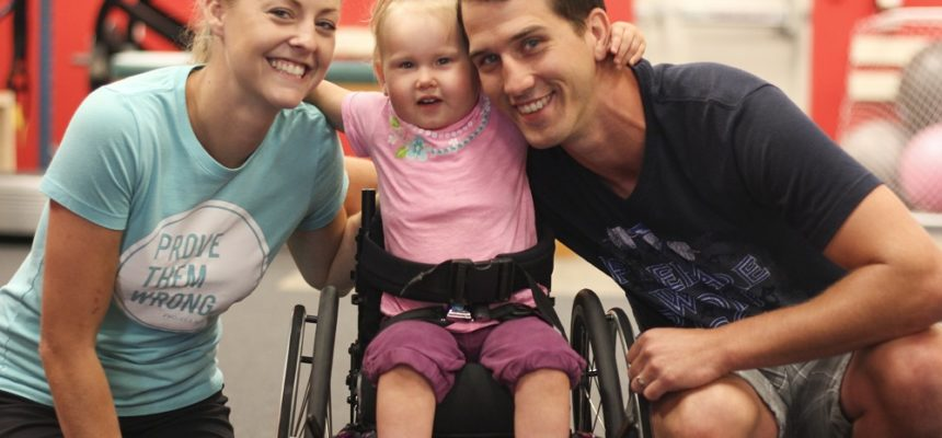 Paralyzed Two-Year-Old Receives Gift of Hope